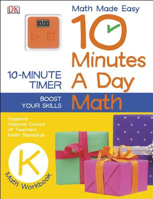 Image for 10 Minutes a Day: Math, Kindergarten