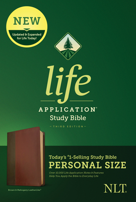Image for Tyndale NLT Life Application Study Bible, Third Edition, Personal Size (LeatherLike, Brown/Mahogany)  New Living Translation Bible, Personal Sized Study Bible to Carry with you Every Day