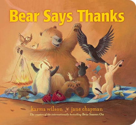 Image for BEAR SAYS THANKS