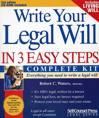 Image for Write Your Legal Will in 3 Easy Steps (Legal Series)