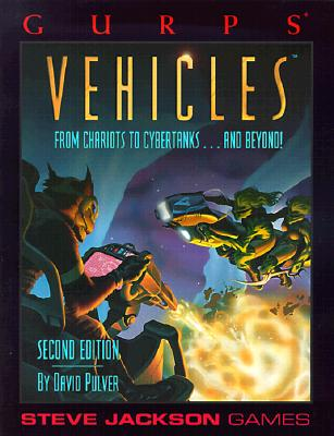 Image for GURPS Vehicles (GURPS: Generic Universal Role Playing System)