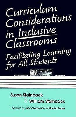 Image for Curriculum Considerations in Inclusive Classrooms: Facilitating Learning for All Students