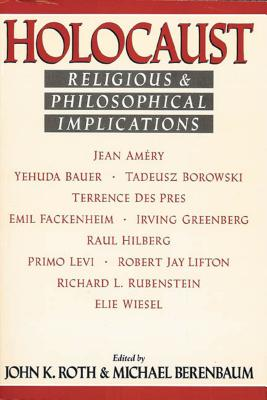 Image for Holocaust: Religious and Philosophical Implications