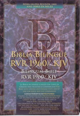 RVR 1960/KJV Bilingual Bible (Black Bonded Leather - Indexed) (Spanish Edition)