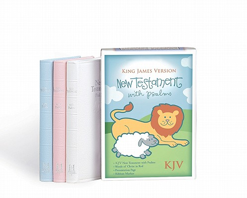 Image for New Testament with Psalms Gift Bible (King James Version, Imitation Leather, White)