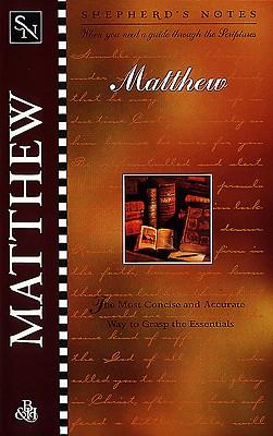 Image for Shepherd's Notes: Matthew