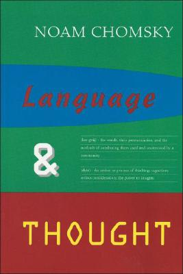 Image for Language & Thought (Anshen Transdisciplinary Lectureships in Art, Science and the Philosophy of Culture)