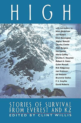 Image for High: Stories of Survival from Everest and K2 (Adrenaline Books)