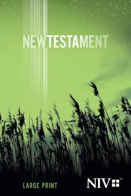 Image for LARGE PRINT NEW TESTAMENT - NIV