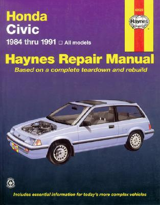Image for HONDA CIVIC Automotive Repair Manual, 1984-1991