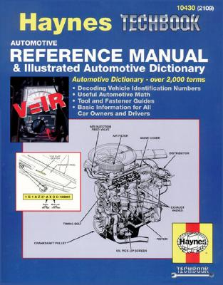 Image for Automotive Reference Manual & Dictionary (Haynes Manuals)