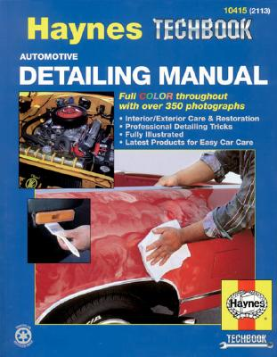 Image for Automotive Detailing Manual (Haynes Techbook)
