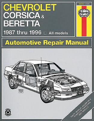 Image for Chevrolet Corsica and Beretta 1987 thru 1996 (Haynes Manuals)
