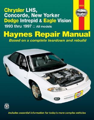 Chrysler Lhs, Concorde & New Yorker Dodge Intrepid Eagle Vision 1993 Thru  1997 All Models, NOT AVAILABLE (NA)