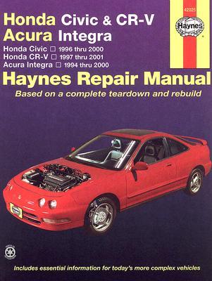 Image for Honda Civic, CR-V & Acura Integra 1994-2001