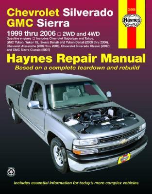 Image for Chevrolet Silverado GMC Sierra: 1999 thru 2006 2WD and 4WD (Haynes Repair Manual)