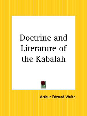 Image for Doctrine and Literature of the Kabalah