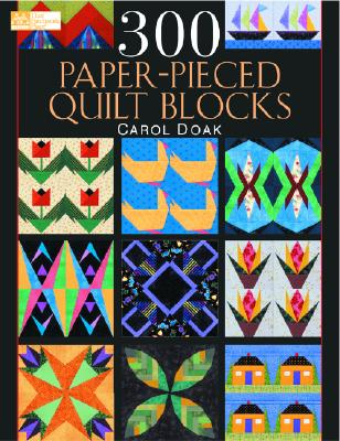 Image for 300 Paper-Pieced Quilt Blocks (Book & CD)