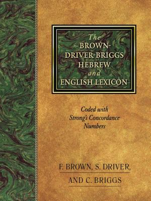Brown-Driver-Briggs Hebrew and English Lexicon : With an Appendix Containing the Biblical Aramaic : Coded With the Numbering System from Strongs Exhaustive Concordance of the Bible, FRANCIS BROWN, S. DRIVER, C. BRIGGS