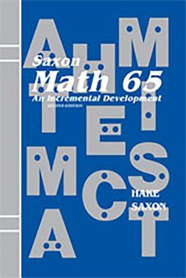 Image for Math 65-An Incremental Development : Stephen Hake (Hardcover, 1994)