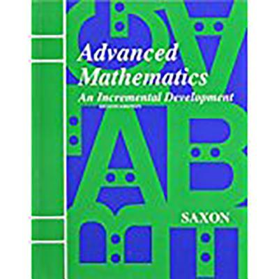 Image for Advanced Mathematics: An Incremental Development, 2nd Edition