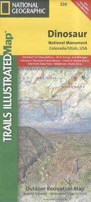 Dinosaur National Monument (National Geographic Trails Illustrated Map), National Geographic Maps - Trails Illustrated