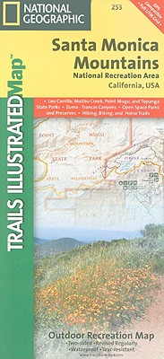 Santa Monica Mountains National Recreation Area (National Geographic Trails Illustrated Map), National Geographic Maps - Trails Illustrated