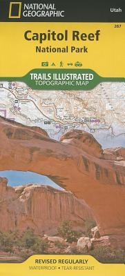 Capitol Reef National Park (National Geographic Trails Illustrated Map), National Geographic Maps - Trails Illustrated