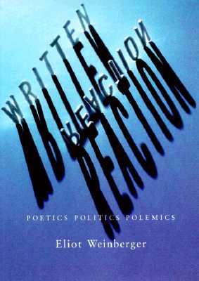 Image for Written Reaction: Poetics Politics Polemics (1979-1995)