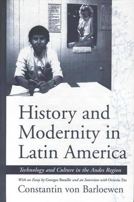 Image for History and Modernity in Latin America