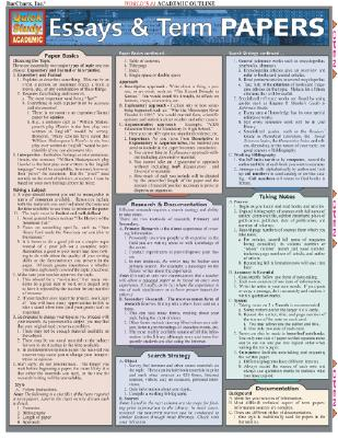Essays & Term Papers (Quickstudy: Academic), BarCharts, Inc.