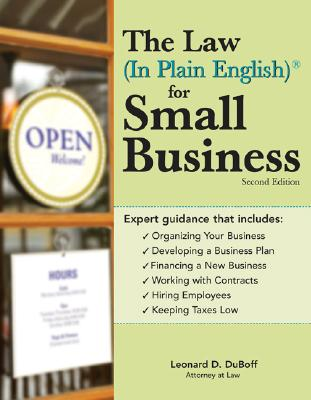 Image for The Law (In Plain English) for Small Business