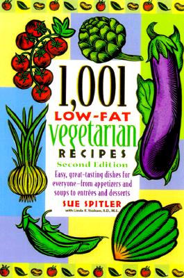 Image for 1,001 Low-Fat Vegetarian Recipes, 2nd ed.