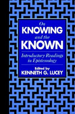 Image for On Knowing and the Known