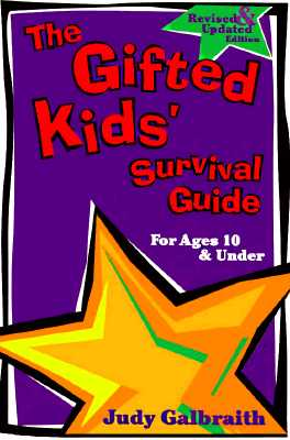Image for The Gifted Kids' Survival Guide for Ages 10 & Under