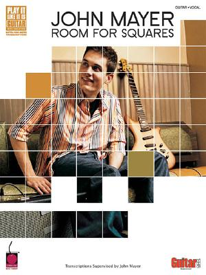 Image for John Mayer - Room for Squares: Transcriptions Supervised by John Mayer