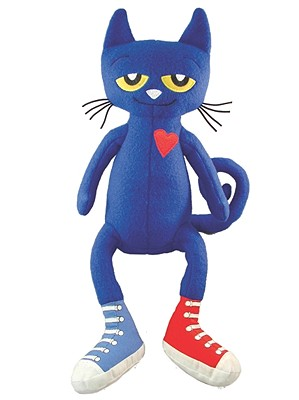 PETE THE CAT 14.5-INCH PLUSH DOLL, DEAN, JAMES