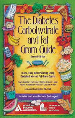 Image for DIABETES CARBOHYDRATE AND FAT GRAM GUIDE