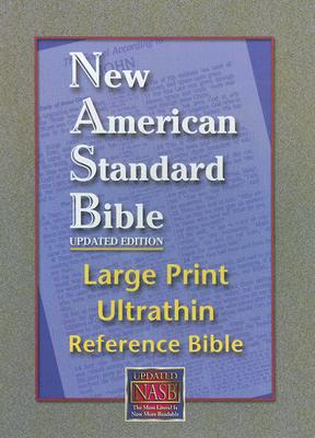Image for NASB Large Print Ultrathin Reference Bible (Black, Genuine Leather)