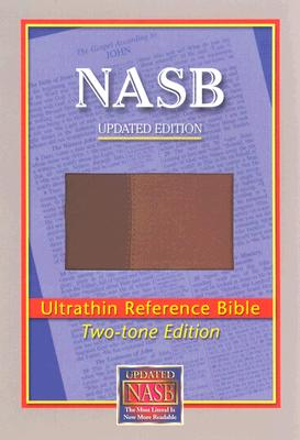 Image for NASB Ultrathin Reference Bible (Brown/Light Brown, Leathertex Two-Tones)