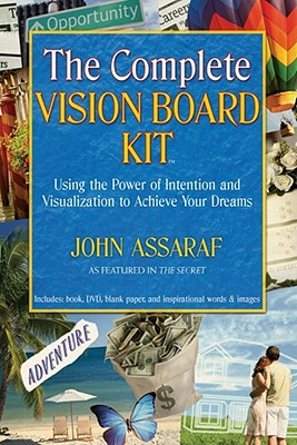 Image for COMPLETE VISION BOARD KIT, THE USING THE POWER OF INTENTION AND VISUALIZATION TO ACHIEVE YOUR DREAMS