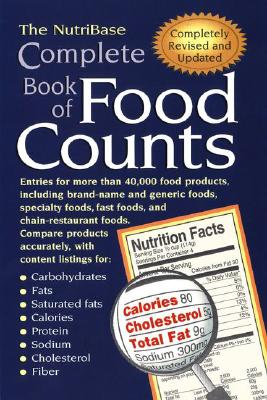 NUTRIBASE COMPLETE BOOK OF FOOD COUNTS