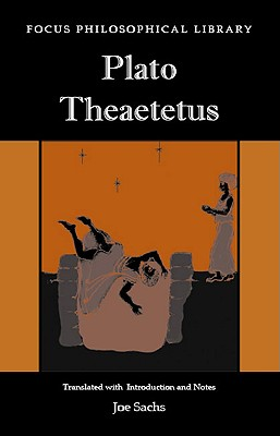 Image for Plato: Theaetetus (Focus Philosophical Library)