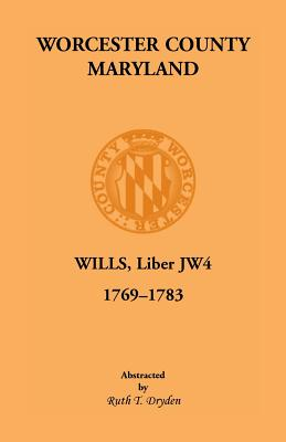 Image for Worcester Will Books, Liber JW4. 1769-1783