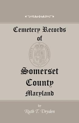 Image for Cemetery Records of Somerset County, Maryland