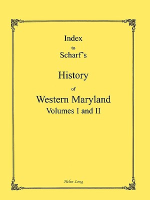 Image for Index to the History of Western Maryland
