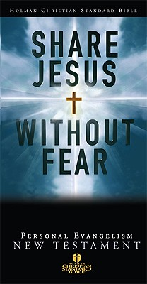 HCSB Share Jesus Without Fear Student Evangelism New Testament, Black Bonded Leather (Holman Christian Standard Bible)