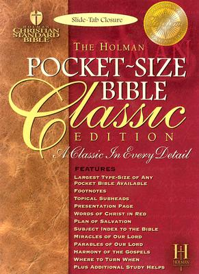 Image for Pocket Size Bible-HCSB-Classic