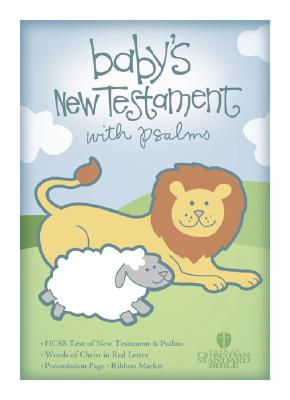 Baby's New Testament With Psalms: Holman Christian Standard Bible, Pink Imitation Leather