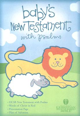 Baby's New Testament With Psalms: Holman Christian Standard Bible, Blue Imitation Leather